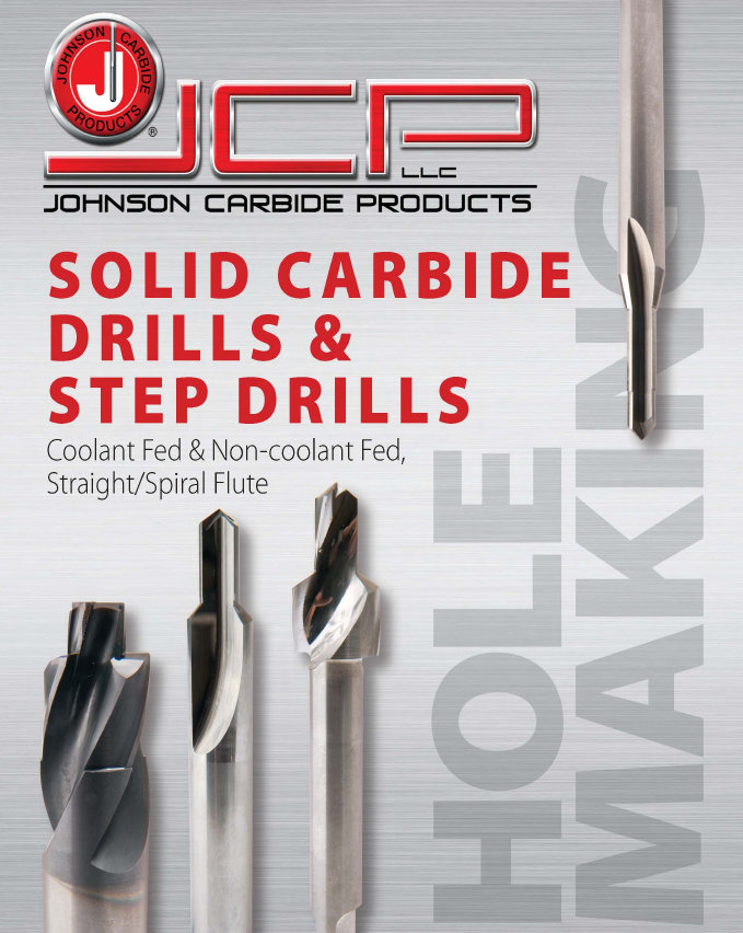 Solid Tungsten Carbide Drills & Step Drills