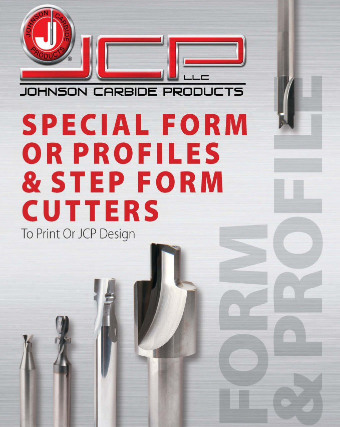 Solid Tungsten Carbide Special Form or Profiles & Step Form Cutters
