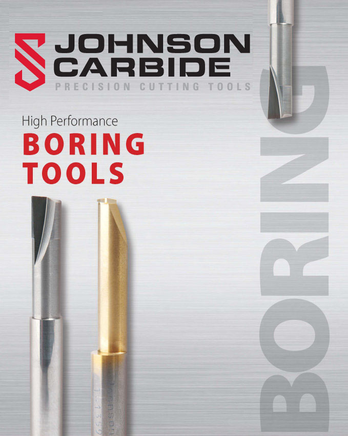 solid carbide high performance boring tools
