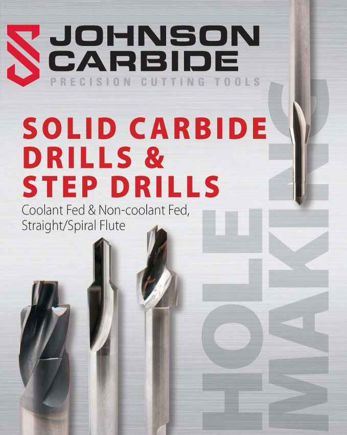 solid carbide drills and step drills